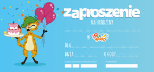 Zaproszenia Urodzinowe Gdańsk Gdynia Loopyspl