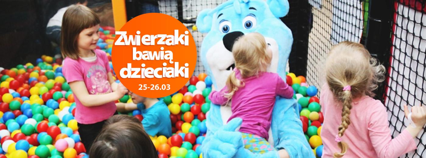 Zwierzaki bawią dzieciaki!