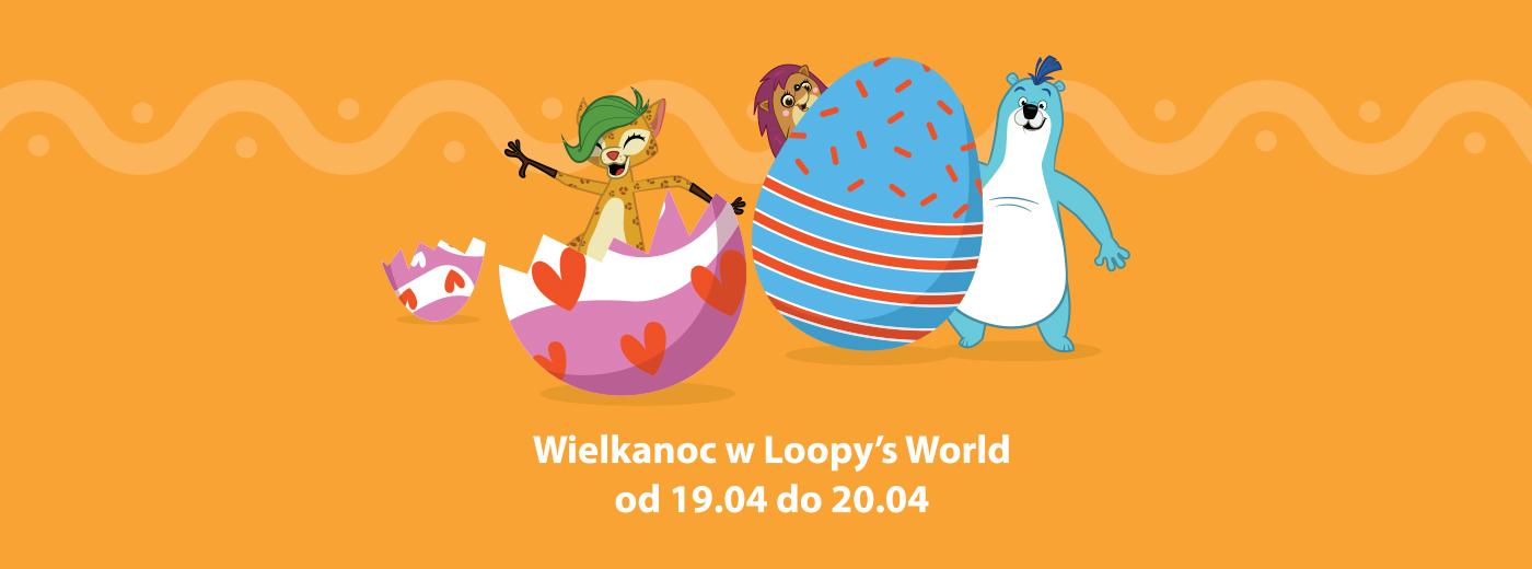 Wielkanoc w Loopys World Gdańsk