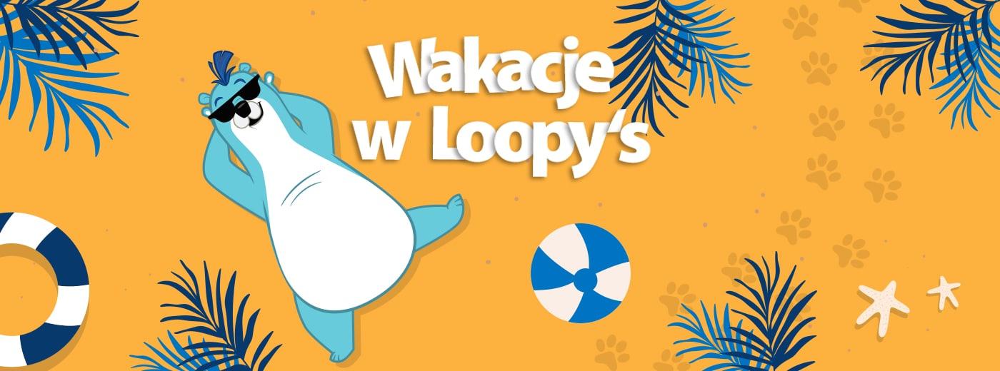 Sierpień pełen zabawy w Loopy's World