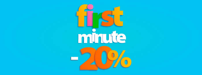 Promocja FIRST MINUTE!