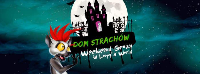 Halloweenowy Dom Strachów!