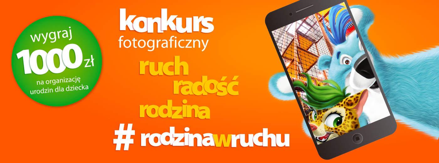 Konkurs fotograficzny RUCH, ZDROWIE, RODZINA!