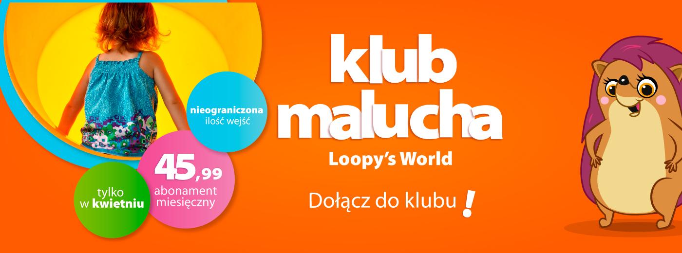PROMOCJA dla dzieci z Klubu Malucha Loopy's
