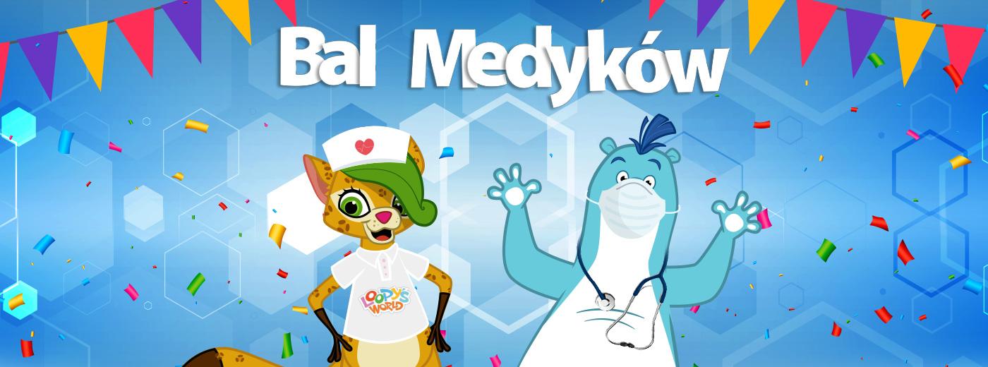 Bal dla dzieci Medyków w Loopy's World Wrocław