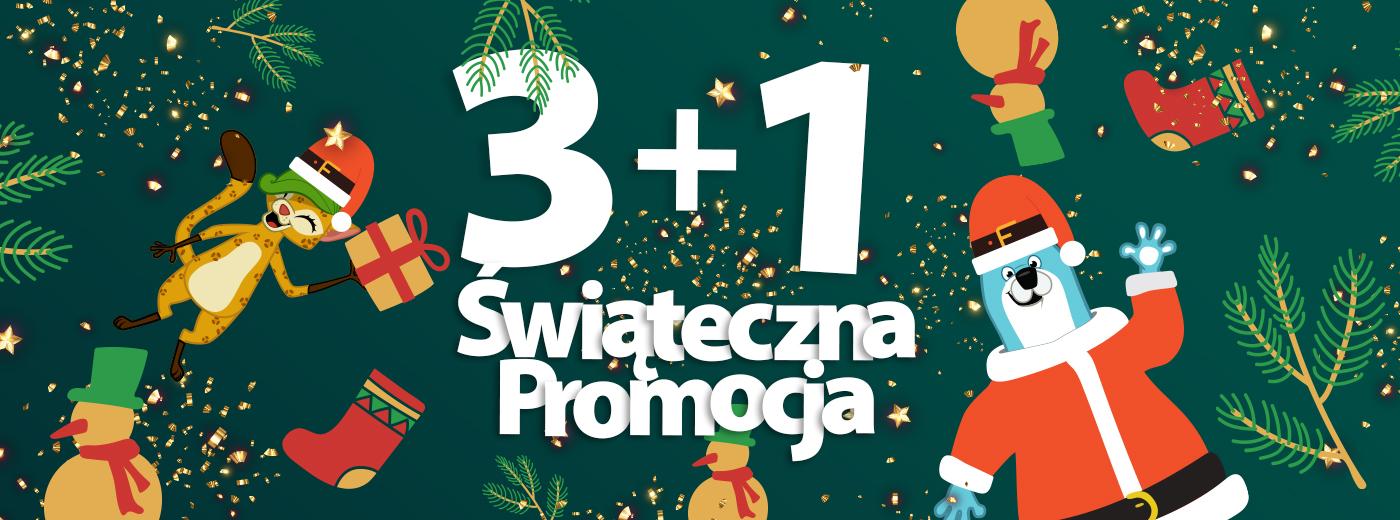 Świąteczna Promocja 3+1